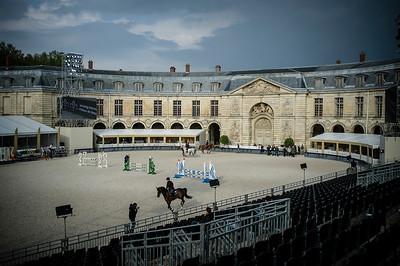 vue de la piste, carrière, Ecuries du Roi, Château de Versailles 2017