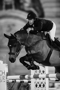 France, Versailles : Maikel VAN DER VLEUTEN riding VDL GROEP QUATRO during the Versailles Castle Show Jumping at the stables of the kings, on May 5th , 2017, in Versailles, France - Photo Christophe Bricot