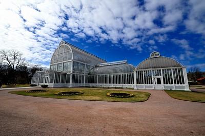 PARC BÄLSTESP. (THE GARDEN SOCIETY OF GOTHENBURG) SERRES, JARDIN - TRÄDGARDSFÖRENINGEN - GÖTEBORG - SUEDE, SWEDEN - GOTHENBURG HORSE SHOW - ROLEX FEI WORLD CUP™ FINAL - AND - REEM ACRA FEI WORLD CUP™ FINAL DRESSAGE - 24/28 AVRIL 2013 - PHOTO © CHRISTOPHE BRICOT