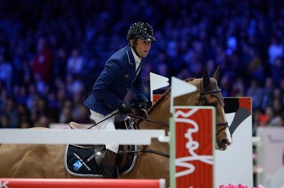 France, Villepinte : Philippe ROZIER (FRA) riding Reveur de Kergane during the Longines Masters of Paris 2017, on December 2 , 2017, in Villepinte, France - Photo Christophe Bricot
