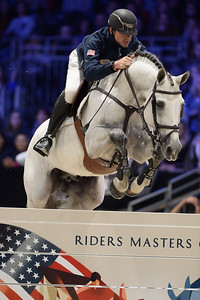 France, Villepinte : Gregory WATHELET (BEL) riding MJT Nevados S during the Longines Masters of Paris 2017, on December 2 , 2017, in Villepinte, France - Photo Christophe Bricot