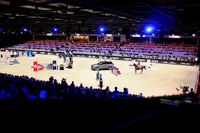 France, Villepinte : the Arena  during the Longines Masters of Paris 2017, on December 2 , 2017, in Villepinte, France - Photo Christophe Bricot