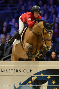 France, Villepinte : Laura KRAUT (USA) riding Viper Vrombautshoeve Z during the Longines Masters of Paris 2017, on December 2 , 2017, in Villepinte, France - Photo Christophe Bricot