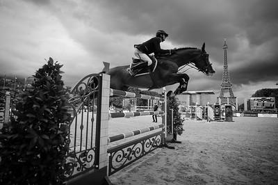 France, Paris : Christian Kukuk riding Limonchello NT during the Longines Global Champions Tour of Longines Paris Eiffel Jumping, on June 30th , 2017, in Paris, France - Photo Christophe Bricot