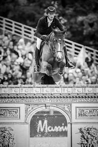 France, Paris : Daniel Deusser riding Equita van T Zorgvliet during the Longines Global Champions Tour of Longines Paris Eiffel Jumping, on July 1th , 2017, in Paris, France - Photo Christophe Bricot