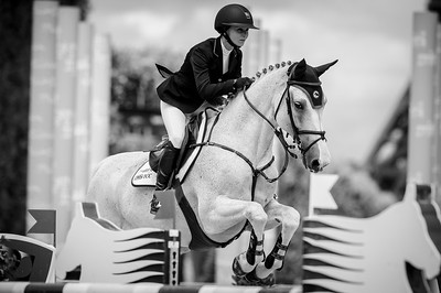 France, Paris : Georgina Bloomberg riding Crown 5 during the Longines Global Champions Tour of Longines Paris Eiffel Jumping, on June 30th , 2017, in Paris, France - Photo Christophe Bricot