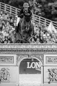 France, Paris : Penelope Leprevost riding Urano de Cartigny during the Longines Global Champions Tour of Longines Paris Eiffel Jumping, on July 1th , 2017, in Paris, France - Photo Christophe Bricot