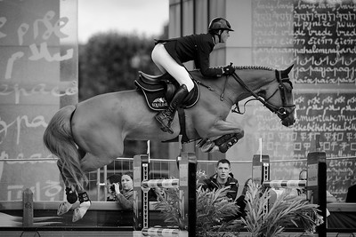 France, Paris : Ben Maher riding Don Vito during the Longines Global Champions Tour of Longines Paris Eiffel Jumping, on June 30th , 2017, in Paris, France - Photo Christophe Bricot