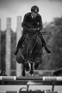 France, Paris : Emilio Bicocchi riding Sassicaia Ares during the Longines Global Champions Tour of Longines Paris Eiffel Jumping, on June 30th , 2017, in Paris, France - Photo Christophe Bricot