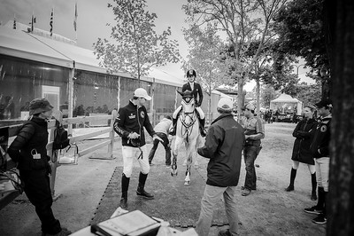 France, Paris : Jennifer Gates riding Pumped Up Kicks during the Longines Global Champions Tour of Longines Paris Eiffel Jumping, on June 30th , 2017, in Paris, France - Photo Christophe Bricot
