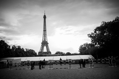 France, Paris : Ambiance, Illustration during the Longines Global Champions Tour of Longines Paris Eiffel Jumping, on June 30th , 2017, in Paris, France - Photo Christophe Bricot