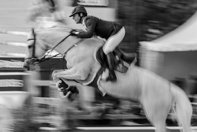 France, Paris : Philippe Rozier riding Rahotep de Toscane during the Longines Global Champions Tour of Longines Paris Eiffel Jumping, on June 30th , 2017, in Paris, France - Photo Christophe Bricot