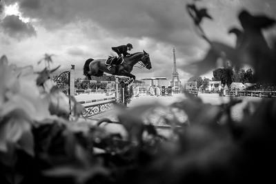 France, Paris : Maikel van der Vleuten riding VDL Groep Verdi TN  during the Longines Global Champions Tour of Longines Paris Eiffel Jumping, on June 30th , 2017, in Paris, France - Photo Christophe Bricot