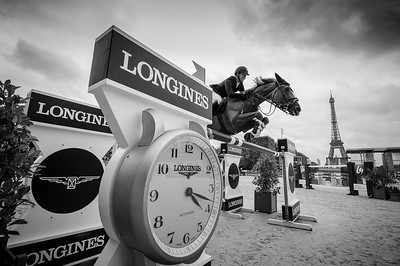 France, Paris : David Will riding Mic Mac du Tillard during the Longines Global Champions Tour of Longines Paris Eiffel Jumping, on July 1th , 2017, in Paris, France - Photo Christophe Bricot