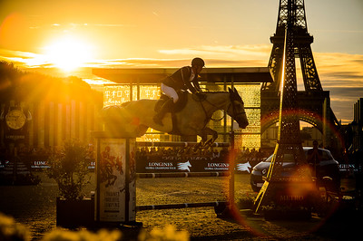 France, Paris : Olivier Philippaerts riding H&M Legend of Love during the Longines Global Champions Tour of Longines Paris Eiffel Jumping, on July 1th , 2017, in Paris, France - Photo Christophe Bricot