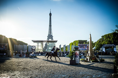 France, Paris : ambiance during the Longines Global Champions Tour of Longines Paris Eiffel Jumping, on July 1th , 2017, in Paris, France - Photo Christophe Bricot