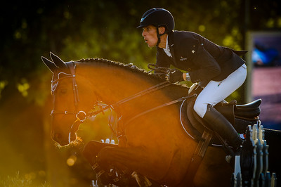 France, Paris : Henrik von Eckermann riding Chacanno during the Longines Global Champions Tour of Longines Paris Eiffel Jumping, on July 1th , 2017, in Paris, France - Photo Christophe Bricot