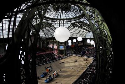 France, Paris : ambiance during the Saut-Hermès Jumping competition in the Grand-Palais, on March 17th , 2017, in Paris, France - Photo Christophe Bricot