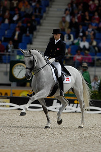 ANDREAS HELGSTRAND_BLUE HORSE MATINE  WEG 2006, Germany, Aachen, Aix la Chapelle - Photo Christophe Bricot -