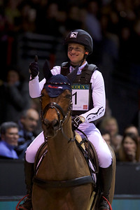 France, Bordeaux : Michael Jung riding Corazon  during the Devoucoux Indoor Derby competition, International Show Jumping of Bordeaux, on February 2, 2018, in Bordeaux, France - Photo Christophe Bricot