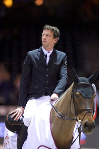 France, Bordeaux : Harrie SMOLDERS (NED) riding ZINIUS during the French Tour Generali, Nouvelle Aquitaine Trophy competition of the International Show Jumping of Bordeaux, on February 2, 2018, in Bordeaux, France - Photo Christophe Bricot