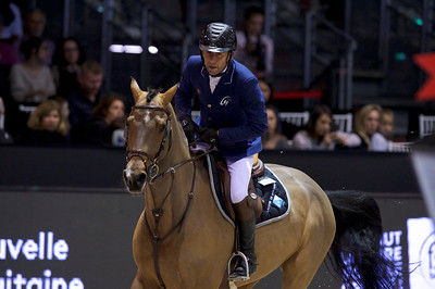 France, Bordeaux : Philippe ROZIER (FRA) riding CRISTALLO A LM during the French Tour Generali, Nouvelle Aquitaine Trophy competition of the International Show Jumping of Bordeaux, on February 2, 2018, in Bordeaux, France - Photo Christophe Bricot