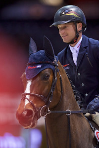 France, Bordeaux : Michael JUNG (GER) riding FISCHERCHELSEA during the Prix France Info - France Bleue competition - International Show Jumping of Bordeaux, on February 4, 2018, in Bordeaux, France - Photo Christophe Bricot
