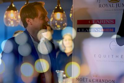 Paris, France : Hervé TAIEB -  Royal Jump (Chateau de Bertichères) press conference in Mauboussin company Champs Elysées, on April 10, 2018, in Paris, France - Photo Christophe Bricot