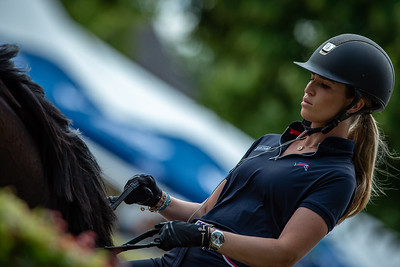 Germany, Aachen : Morgan BARBANÇON (FRA) riding SIR DONNERHALL II OLD during the CHIO of Aachen, on July 19th , 2019, in Aachen, Germany - Photo Christophe Bricot