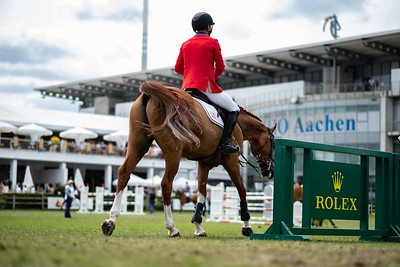 Germany, Aachen : Kent FARRINGTON (USA) riding CREEDANCE during the CHIO of Aachen, on July 19th , 2019, in Aachen, Germany - Photo Christophe Bricot