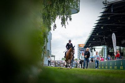Germany, Aachen : Eric Lamaze during the CHIO of Aachen, on July 19th , 2019, in Aachen, Germany - Photo Christophe Bricot