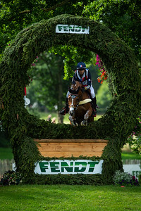 Germany, Aachen : Alexis GOURY (FRA) riding TROMPE L'OEIL D'EMERY during the CHIO of Aachen, on July 20th , 2019, in Aachen, Germany - Photo Christophe Bricot