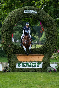 Germany, Aachen : Imogen MURRAY (GBR) riding IVAR GOODEN during the CHIO of Aachen, on July 20th , 2019, in Aachen, Germany - Photo Christophe Bricot