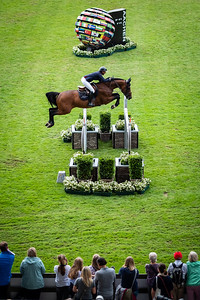 Germany, Aachen : PenelopeLEPREVOST (FRA) riding ANDIAMO SEMILLY during the CHIO of Aachen, on July 18th , 2019, in Aachen, Germany - Photo Christophe Bricot
