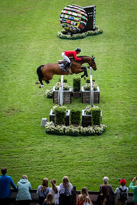Germany, Aachen : Pius SCHWIZER (SUI) riding CHAQUILOT during the CHIO of Aachen, on July 18th , 2019, in Aachen, Germany - Photo Christophe Bricot
