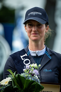 France, La Baule : Simone Blum riding Dsp Alice winner of the Grand Prix during the Longines FEI Jumping Nations Cup™ de France-La Baule, on May 19th , 2019, in La Baule, France - Photo Christophe Bricot