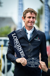 France, La Baule :   Darragh Kenny during the Longines FEI Jumping Nations Cup™ de France-La Baule, on May 19th , 2019, in La Baule, France - Photo Christophe Bricot