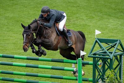 France, La Baule : Gregory Wathelet riding Spike Vd Withoeve the Longines FEI Jumping Nations Cup™ de France-La Baule, on May 16th , 2019, in La Baule, France - Photo Christophe Bricot