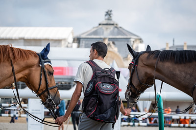 France, Chantilly : illustration during the Longines Longines Global Champions Tour of Chantilly, on July 13th , 2019, in Chantilly, France - Photo Christophe Bricot