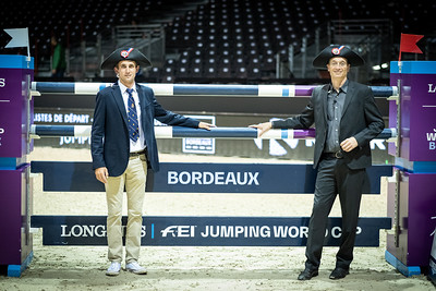 France, Bordeaux : Ambiance during the  Longines FEI World Cup Grand Prix the Jumping International in Bordeaux, western France, on February 9th , 2019, in Bordeaux, France - Photo Christophe Bricot / CEB