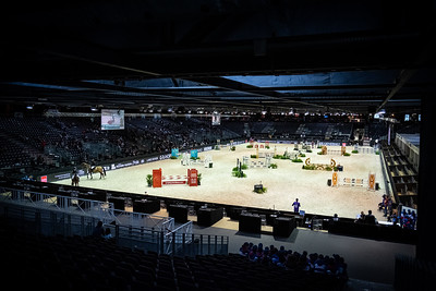 France, Bordeaux : Ambiance, arena, the Jumping International in Bordeaux, western France, on February 7th , 2019, in Bordeaux, France - Photo Christophe Bricot