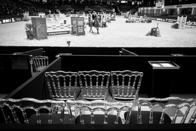 {country}, {city} : Ambiance, fences, during the Jumping International in Bordeaux, western France, on February 7th , 2019, in {city}, {country} - Photo Christophe Bricot