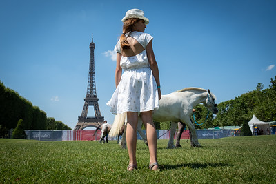 France, Paris : ambiance during the Longines Longines Global Champions Tour of Paris, on July 6th , 2019, in Paris, France - Photo Christophe Bricot