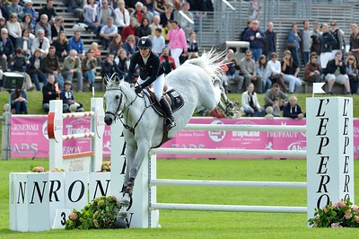 JUMPING : S.I.E.C. LIVELLO - ANGELICA AUGUSTSSON  - GRAND PRIX TROPICANA - CSI4* L'ETE DU GRAND PARQUET 2013 - PHOTO CHRISTOPHE BRICOT