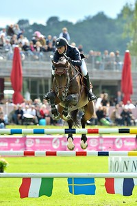 JUMPING : QUORIOSO PRE NOIR - TIMOTHEE ANCIAUME - GRAND PRIX TROPICANA - CSI4* L'ETE DU GRAND PARQUET 2013 - PHOTO CHRISTOPHE BRICOT