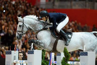 France, Lyon :  Sergio ALVAREZ MOYA (ESP) riding on CARLO 273  during the Longines Grand Prix 2013  - LONGINES FEI WORLD CUP™- Equita Lyon 2013 - Photo Christophe Bricot