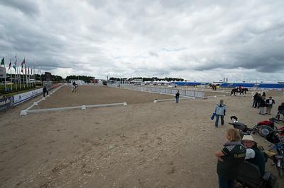 PADDOCK, PISTE D'ENTRAINEMENT - Championnat d'Europe 2013 - HERNING , Danemark - 20/08/13 - PHOTO CHRISTOPHE BRICOT - www.bricotchristophe.com