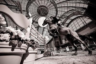 "PARIS, Grand Palais,  JOHAN-SEBASTIAN GULLIKSEN (NOR). ZAZOU - LES TALENTS HERMES - during the ""Saut Hermès"" March 14-16th 2014 in the Grand Palais -  20140316 - Photo Christophe Bricot"