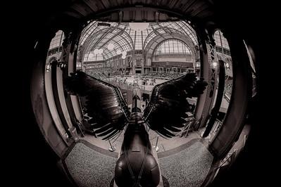 the Saut Hermès show Jumping 2015, Grand-Palais