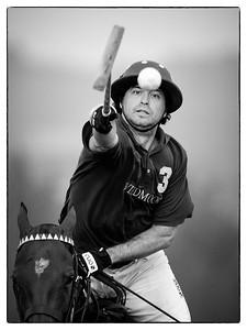 FINALE COUPE D'ARGENT POLOCLUB DE DEAUVILLE TOURNOI DU CENTENAIRE  © CHRISTOPHE BRICOT  COMPOSITION ÉQUIPES :   WILDMOOR (MAILLOT VIOLET) :  N°1 : EDOUARD HATCHMEN N°2 : ROB ARCHIBALD N°3 : BAUTISTA HEGUY (photo) N°4 : MARK BOOTH (CAPITAINE)  MARCHIOPOLO (VERT ET VIOLET) N°1 : G. LUIGGI PARCHIOPOLO (CAPITAINE) N°2 : EDUARDO MENENDEZ N°3 : EDUARDO HEGUY N°4 : PAULO BERTOLA